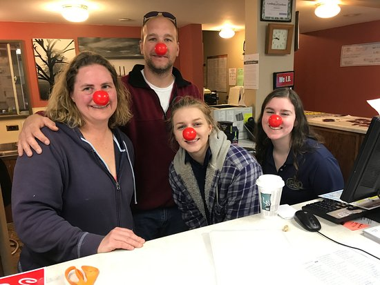 West Salem, WI: Happy Red Nose Day!
