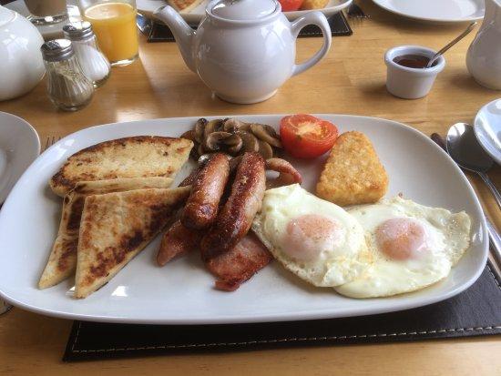 Kilkeel, UK: breakfast