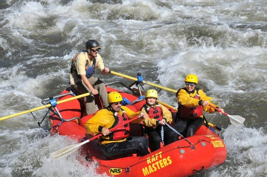 Raft Masters : Family trip down Big Horn Sheep Canon