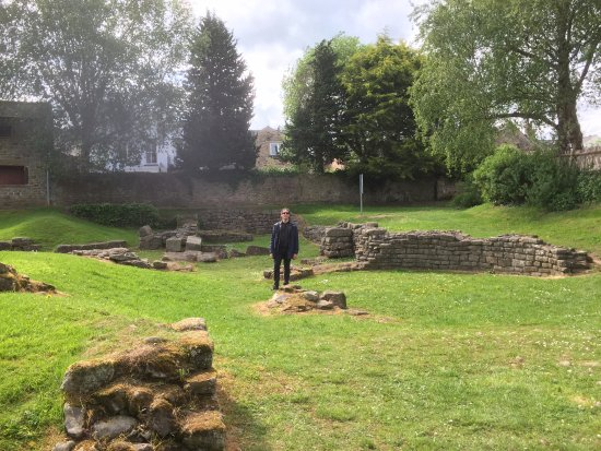 Ribchester, UK: Old roman bath