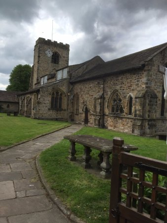 Ribchester, UK: St Wilfrid's Church