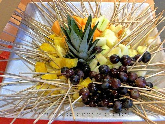 Gasthof Waldachtal: Leckere, frische Obstportionen.