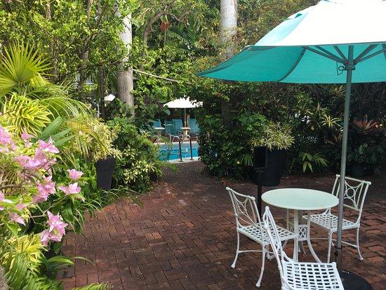 Courtyard Bild Von The Gardens Hotel Key West Tripadvisor