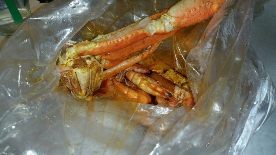 Upland, كاليفورنيا: Snow crab legs with shrimp