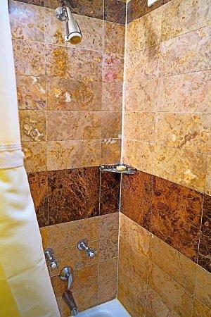 Warwick New York: The shower stall