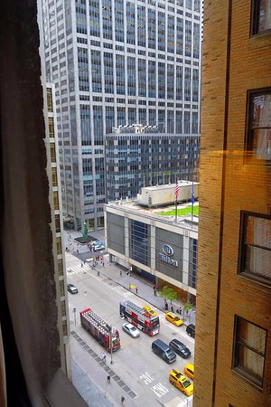 Warwick New York: View to 6th Ave from room 1410