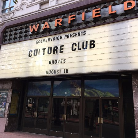 Photo of The Warfield in San Francisco, CA, US
