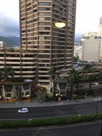イリカイ ホテル, 窓からの景色
