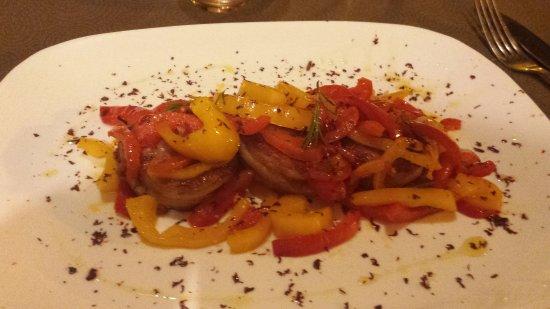 Nonantola, Italy: Cena stupenda del sabato sera