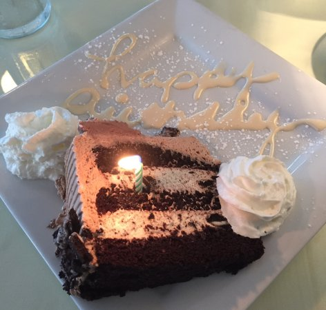 Mount Holly, Nueva Jersey: Oreo mousse cake