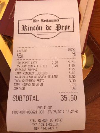 El Rincon de Pepe: photo0.jpg
