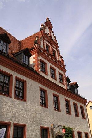 Wurzen, Germany: 下がツーリストオフィス兼博物館になっているようです。