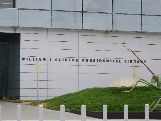 William J. Clinton Presidential Library: Clinton Presidential library
