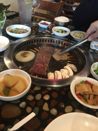 Stony Brook, NY: What a gem! John was beyond wonderful at introducing us to Korean BBQ. Everything was delicious!