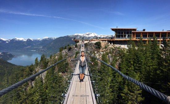 Squamish, Canadá: Suspension bridge