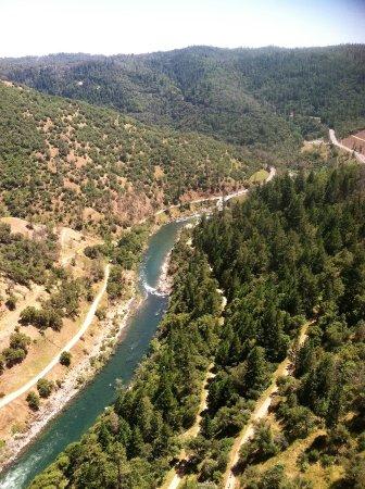 Auburn, CA: view from bridge