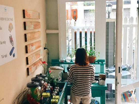Quy Nhon, Vietnam: Home's coffee & tea corner