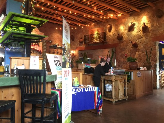 On The Border Mexican Grill Cantina Front Desk Of Restaurant