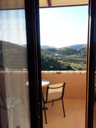 Hotel Perivoli: great views from room large balcony