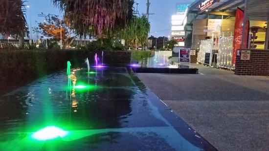Southport, Australia: Lighting show