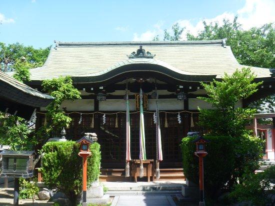 Kashiwara, Nhật Bản: 拝 殿