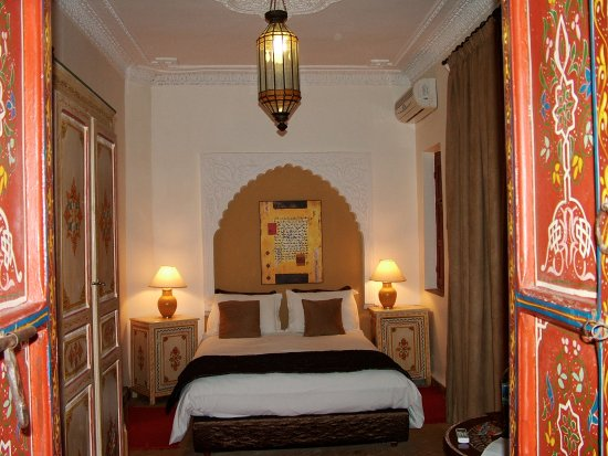 Martinez, CA: My room in the pretty riad; Marrakech, MOROCCO. We stay here for Textiles & Tajine (cuisine) Tou