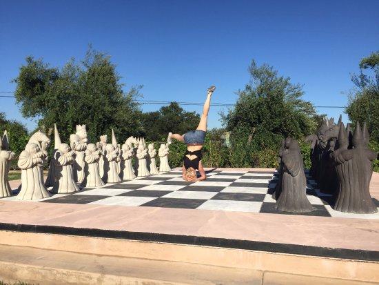 Ramona, CA: Yoga & Chess