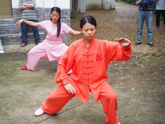 Tai Chi class - Picture of Aroma Tea House, Guilin - TripAdvisor