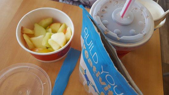 เวอร์นาล, ยูทาห์: Kids meal apples option