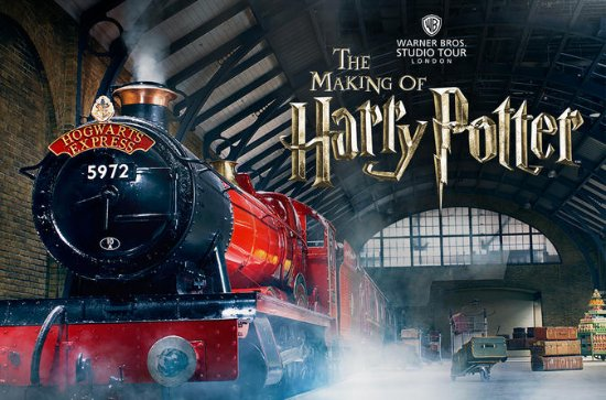 Warner Bros Harry Potter Admission...
