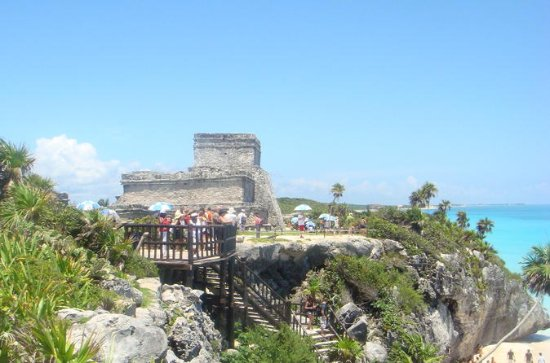 Private Tour: Tulum and Kaan Luum...
