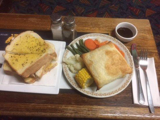 Dungog, Australien: Really delicious Chicken & Leek Pie