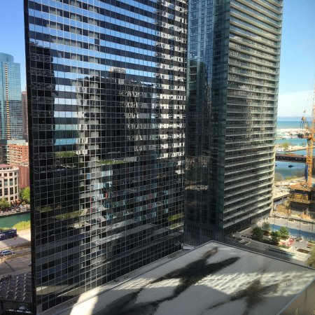 Radisson Blu Aqua Hotel: Chic view
