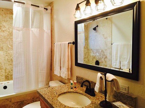 TimberLodge Inn: Updated Bathroom