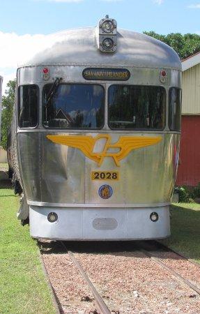 Mount Surprise, Australia: Savanahlander Railmotor