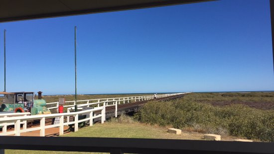 Carnarvon, Australia: Valentina's One Mile Jetty Cafe'
