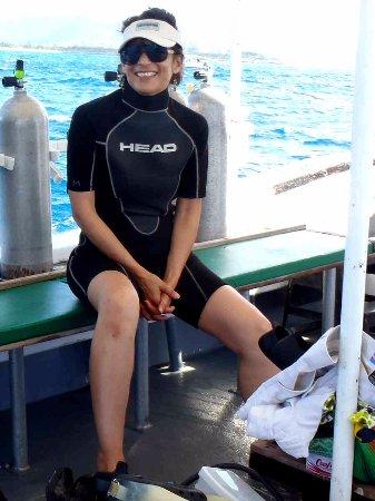Scuba Fun Dive Center: Suited up