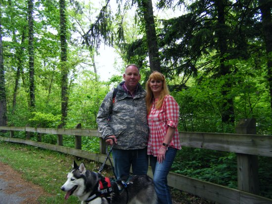 Chesterton, IN: That is us, on another State Park adventure!