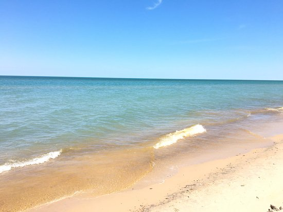 Chesterton, IN: Lake Michigan from Indiana Dunes State Park Shoreline!