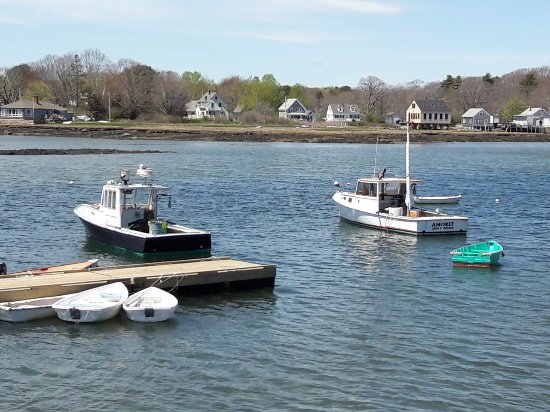View from Cape Porpoise Chowder House Deck