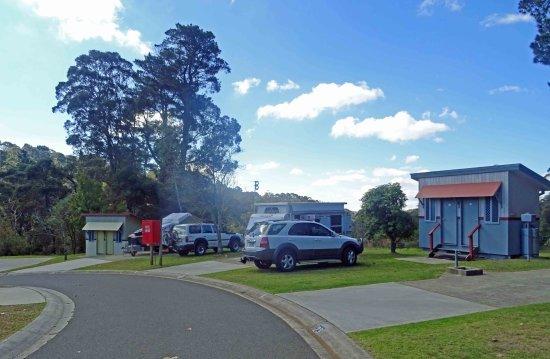 Blackheath, Australië: Caravan powered ensuite site