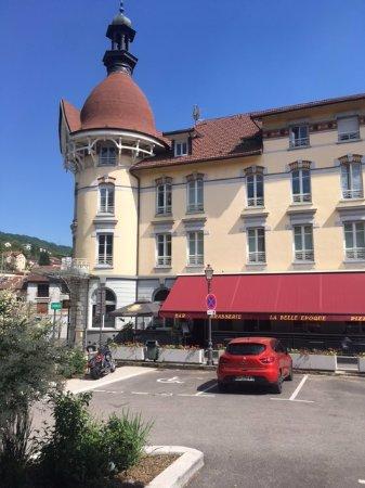 Bellegarde sur Valserine, Γαλλία: la belle epoque , sa terrasse