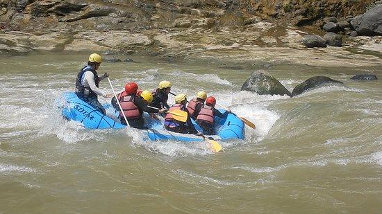 Davao City, Filipinas: river rafting
