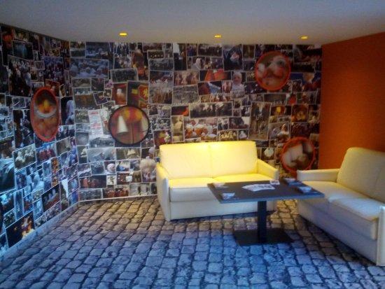 La Louviere, Belgia: Холл для отдыха
