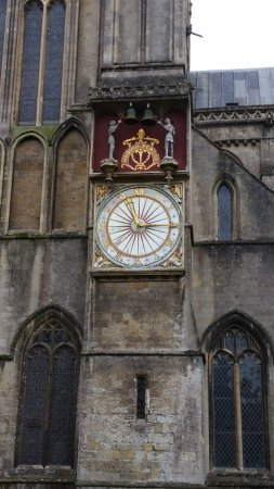 Wells Cathedral : Clocktower