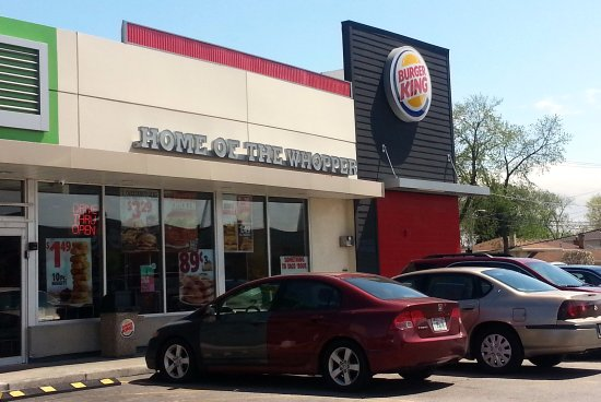 Westchester, IL: entrance to & front of Burger King