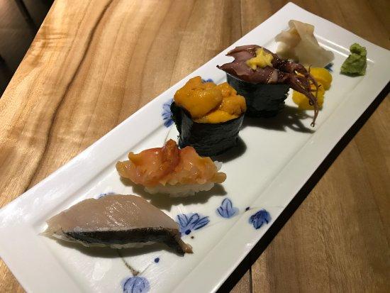 Sushi Ma Japanese Restaurant: 餐廳食物
