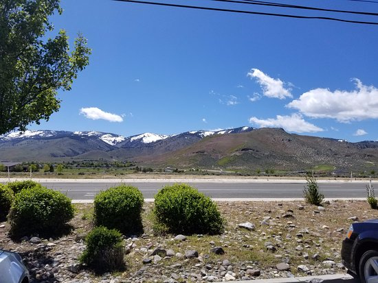 Carson City, NV: View from parking lot.
