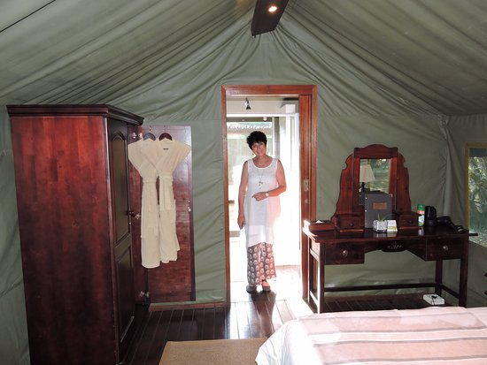 Falaza Game Park & Spa: Inside tent 11 on my 60th birthday