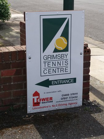 Гримсби, UK: Grimsby Tennis Centre
